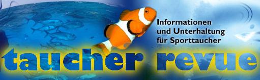 Taucher Revue Logo